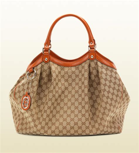 Gucci Handbag by Gucci Sukey Original Gg Canvas Tote All Handbag Fashion