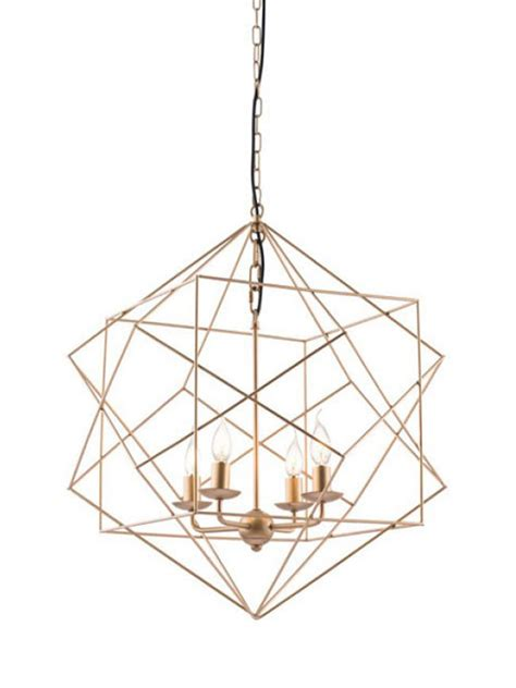 wire pendant light gold wire geometric pendant light modern furniture