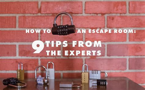 escape the room tips how to crush an escape room 9 tips from the experts breakout kc