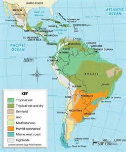 weather map of south america america climate map