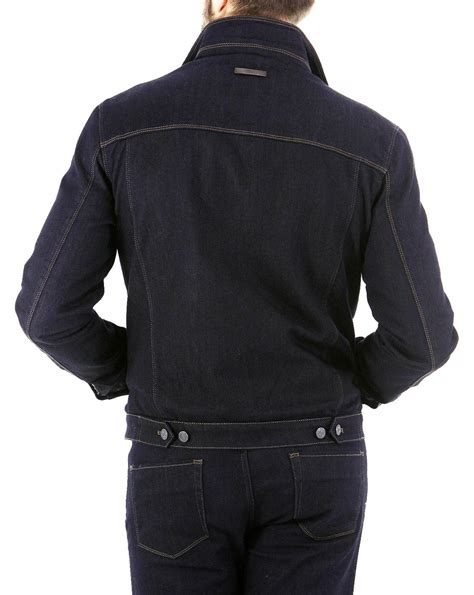 Denim Quilted Jacket by New Denim Jacket With Quilted Lining In Blue For