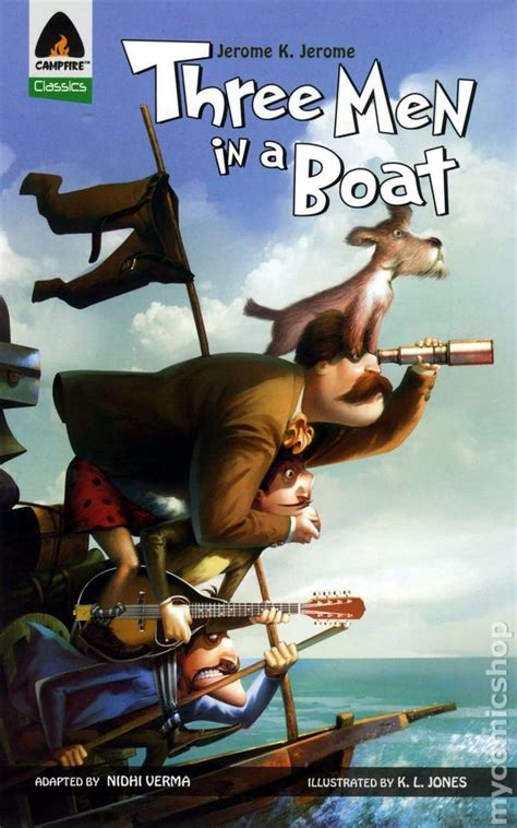 three in a boat books three in a boat gn 2011 cfire comic books