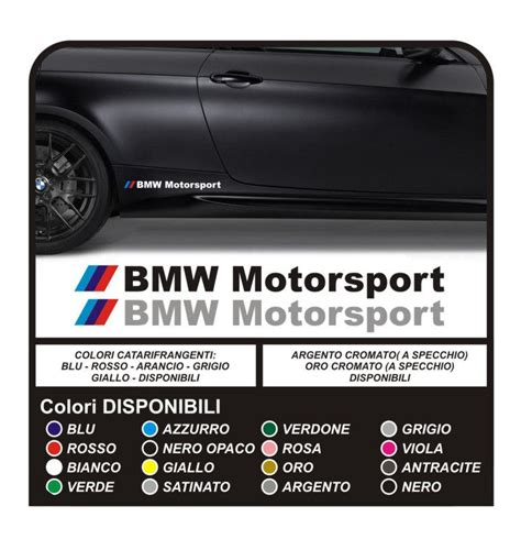 Bmw Aufkleber Motorsport by Purchase Bmw Motorsport Aufkleber Side Sticker M M3 M5 Dtm