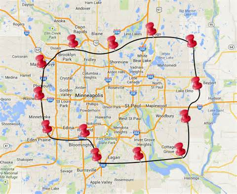Twin Cities Metro Map by Similiar Map Of Twin Cities Metro Area Suburbs Keywords