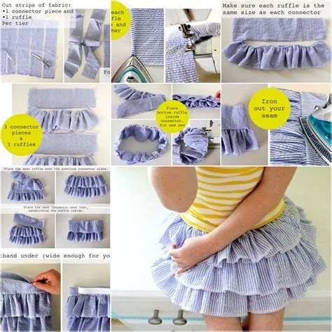 pattern making ruffles how to make ruffled shirt for girls of all ages fab art diy