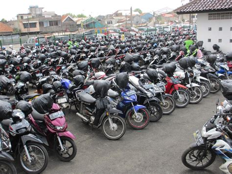 Two Wheeler Motorcycle by Two Wheeler Parking Can Be Space Efficient
