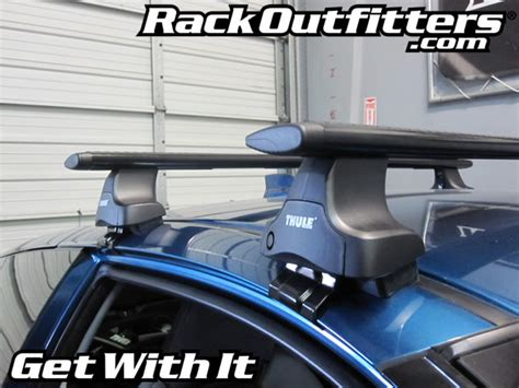 Honda Crz Roof Rack by Honda Cr Z With Thule 480r Traverse Aeroblade Roof Rack