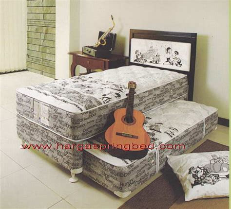 bed 2 in 1 kasur sorong springbed anak sorong