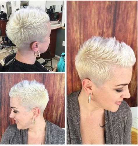 hairless hairstyles short hairstyles with shaved side hairstyle fo women man