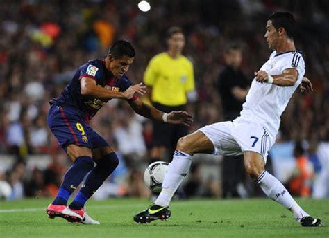 alexis sanchez to madrid barcelona vs real madrid 23 08 2012 cristiano ronaldo