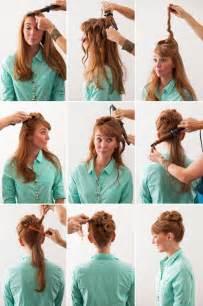frisuren lange haare leicht gemacht die coolsten frisuren f 252 r lange haare zum selbermachen mit einfachen anleitungen veniccede me