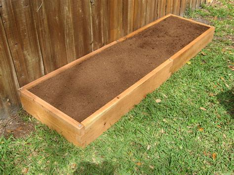 Gardening Beds 2x8 Raised Garden Bed Cedar Bed Garden In Minutes