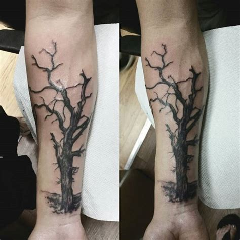 tree branch tattoo 60 forearm tree designs for forest ink ideas