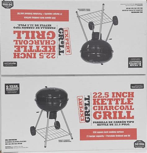 backyard grill 22 5 inch kettle charcoal grill kettle charcoal grill expert heavy duty 22 5 inch bbq