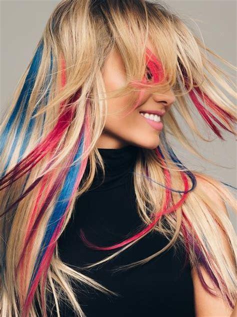 human hair clip  color strips  hairdo hair