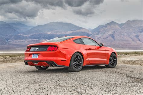 Ford Mustang Ecoboost 2016 Ford Mustang Ecoboost Test Review