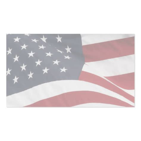 american flag business cards templates blank patriotic business cards zazzle