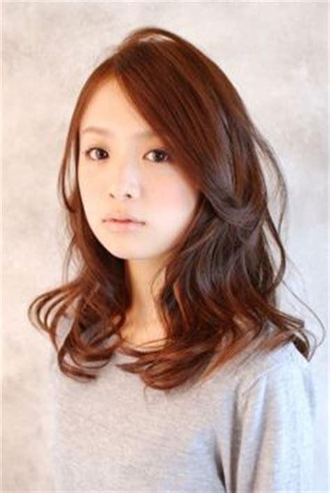 korean haircut for thick hair korean shoulder length hairstyles 2017 celebrity