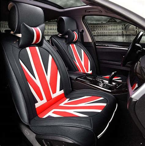 car seat cover or snowsuit leather universal car seat covers union style