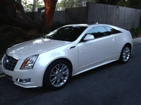 buy used 2012 cadillac cts premium coupe 2 door 3 6l in