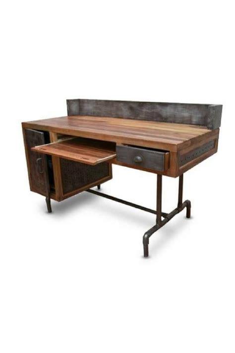Bureau D Angle Style Industriel by Bureau Industriel Metal Et Bois Myqto