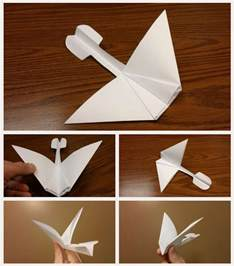 How To Make Paper Airplanes Gliders - how to fold a paper airplane glider images