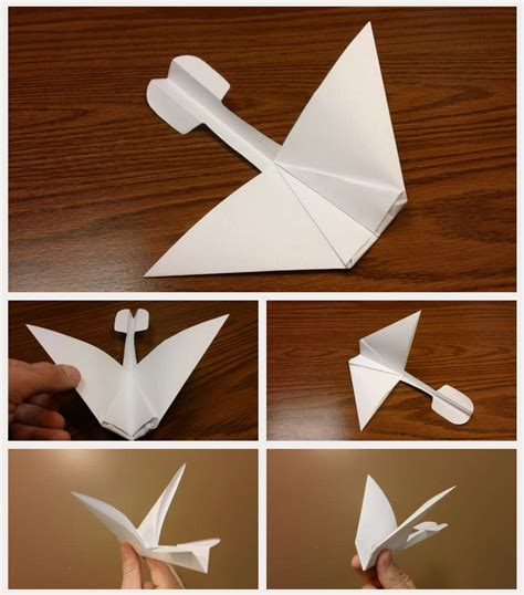 How To Make A Paper Hang Glider - how to make a gliding paper airplane 28 images best