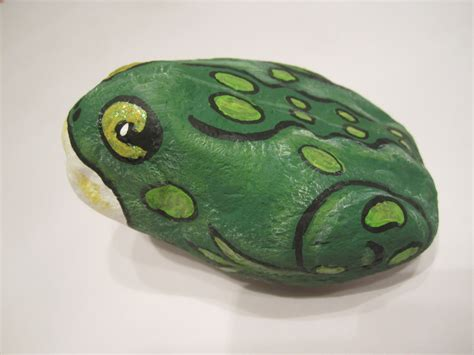 Steine Bemalen Frosch by Painted Rock Frog One Of Many Rocks Collected In