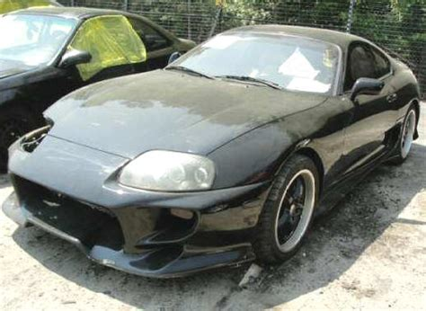 Salvage Toyota Supra For Sale Turbo Supra For Sale Turbo Toyota Supra Wrecked