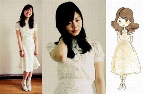 Baju Boneka Dress 4 the dresses herself in drawings visboo