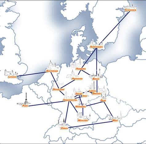 mapping fastweb euserv anbindung und peerings
