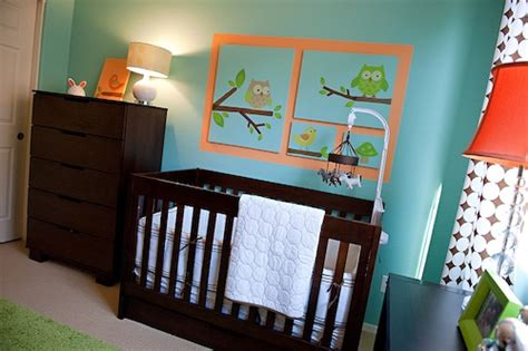 baby nursery decor vinyl mural owl themed nursery for