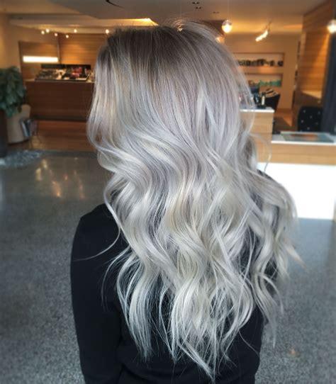 silvery blonde highlights silver blonde hair hair pinterest silver blonde hair