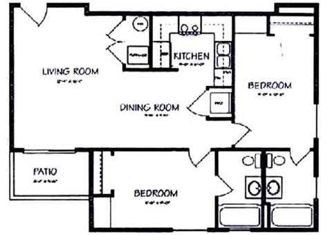 two bedroom two bath house plans ideal house plants home design and decor