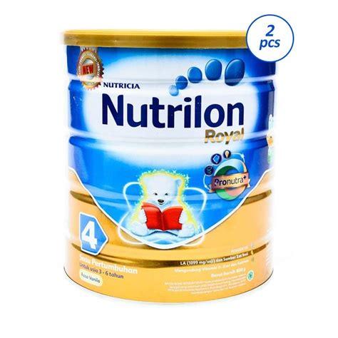 Nutrilon Royal 4 Vanila 800g jual nutrilon royal 4 vanila 2 pcs 800 g harga kualitas terjamin blibli