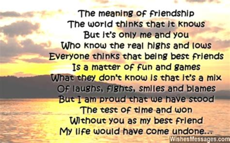 poems for your best friend birthday poems for best friends wishesmessages