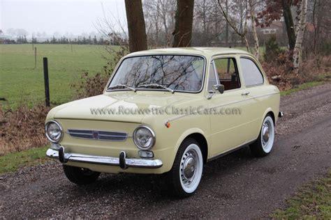Classic Home Interior fiat 850 special classic cars rouwette classic cars