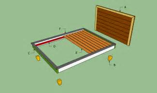 Bed Frame To Build How To Build A Platform Bed Frame Howtospecialist How