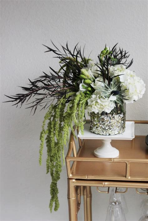 flower arrangement ideas new year dec 18 a modern table setting new year s ideas