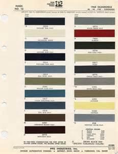 vht engine paint color chart
