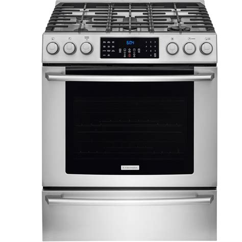 Oven Gas Electrolux shop electrolux 5 burner freestanding 4 6 cu self cleaning