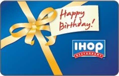 Ihop Gift Card Promotion Code - ihop happy birthday gift card order at http www amazon com ihop happy birthday gift
