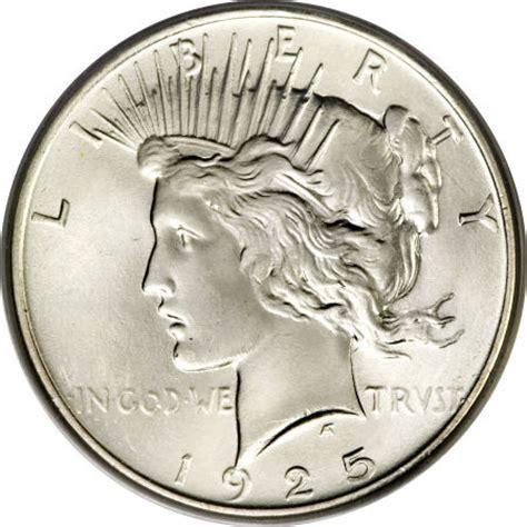 1925 silver dollar value 1925 peace silver dollar coin value facts