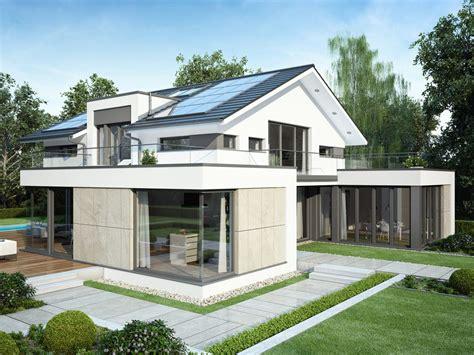 Haus Bauen Mit Architekt by Bauhaus Architektur Mit Satteldach Einfamilienhaus