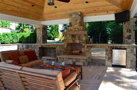 Outdoor Kitchens Fireplaces Eva Furniture Outdoor Kitchen And Fireplace