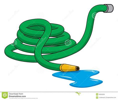 garden hose stock vector illustration