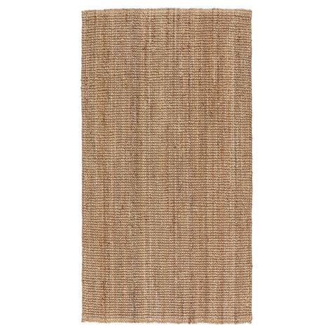 ikea carpets lohals rug flatwoven natural 80x150 cm ikea