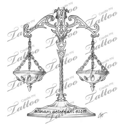 libra scales tattoo designs libra scale designs tattoos libra