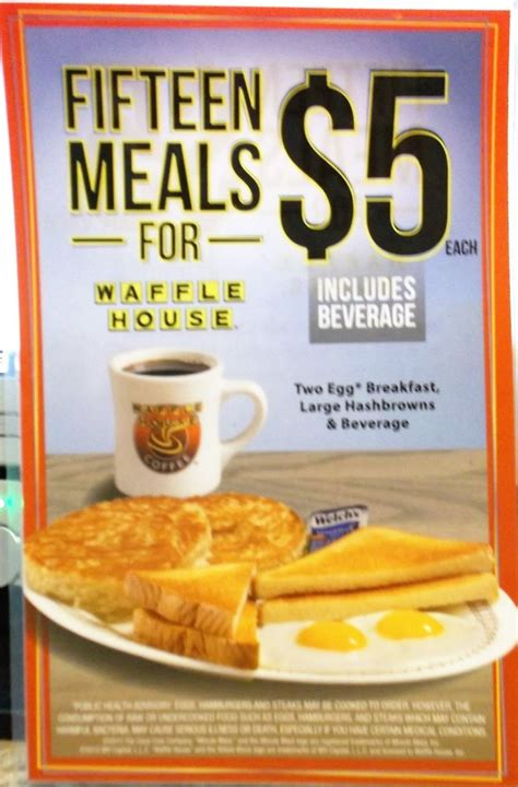Who Sells Waffle House Gift Cards - 1 one waffle house laminated 5 place card menu great for retro kitchen ebay