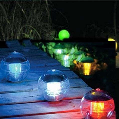 Newest Solar Float Light Garden Pond L Floating Lights Solar Lights For Ponds
